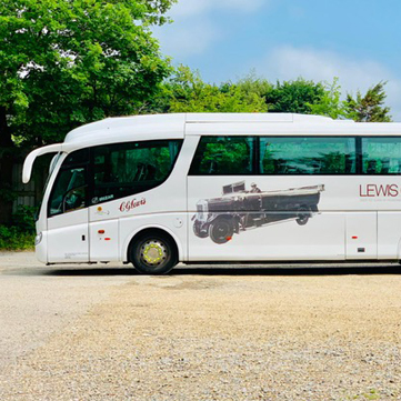 Lewis Coaches Bus